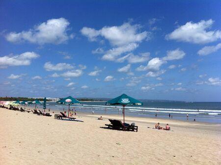 kuta: Kuta beach bali Stock Photo