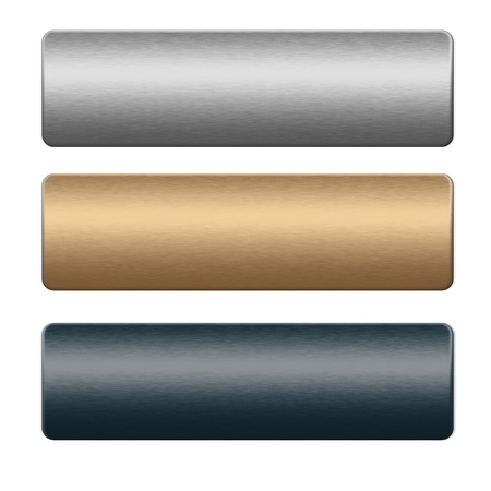 metal textures: Chrome boards. silver, gold and blue texture, background to insert text or design