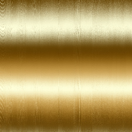 smooth surface: gold metal surface texture, background to insert text or design Stock Photo