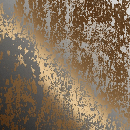 oxidized: old rusted metal surface as background to insert text or design  Stock Photo