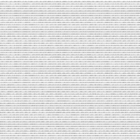 bits: black and white sheet of binary codes as abstract texture to design new backgrounds Stock Photo