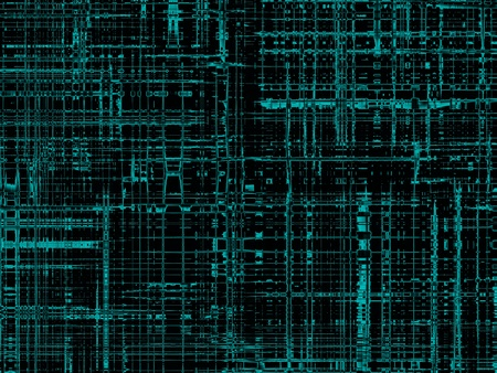 technological: modern cyberspace, black abstract texture, background for designers Stock Photo