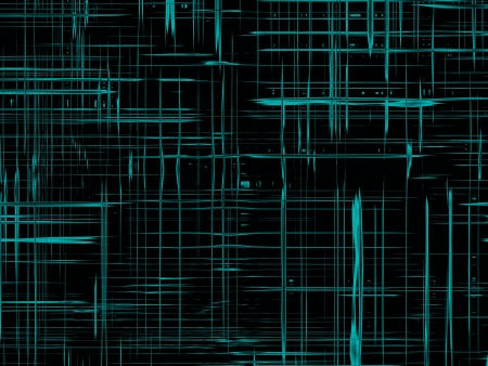 modern cyberspace, black abstract texture, background for designers Stock Photo - 12658183