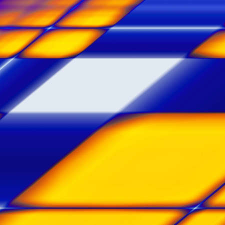 rippled: abstract blue yellow background