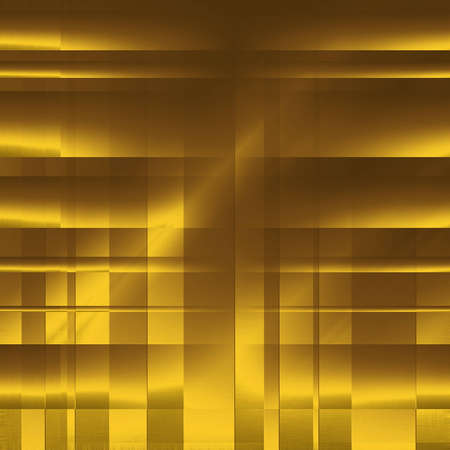 engraver: abstract blocks gold background  Stock Photo