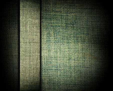 green grunge fabric with bar as vintage background for insert text or design photo