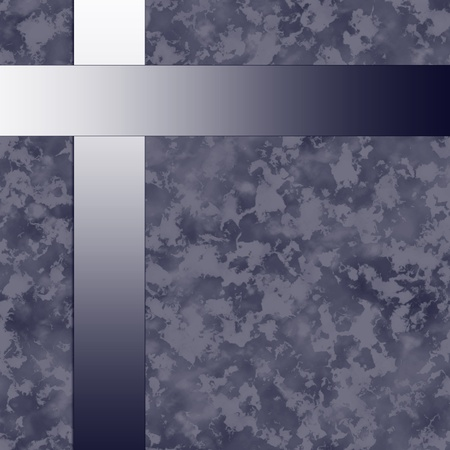 funeral background: violet paper with metal bars