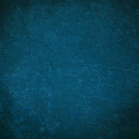 blue grunge paint wall background or texture  photo