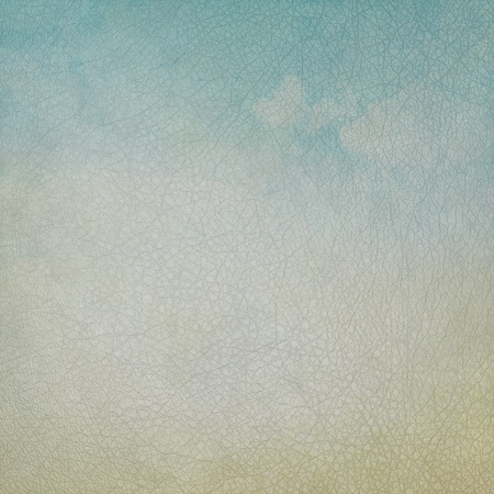 leather texture or background in blue and gray color photo