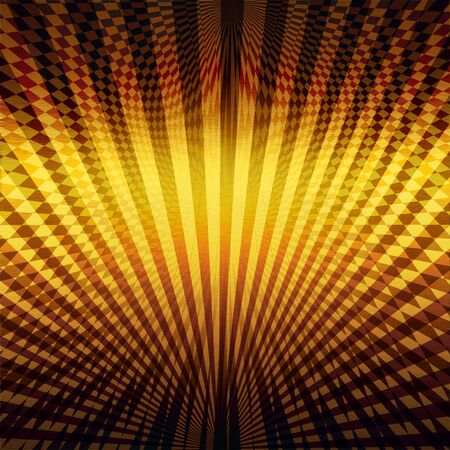 gold metal background with abstract pattern photo