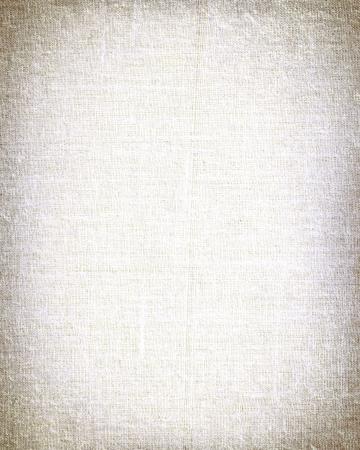 witte doek met vignet te gebruiken als achtergrond of textuur