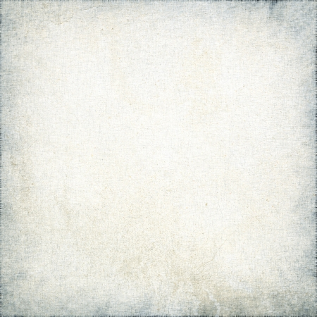 marbled: white canvas texture with delicate stripes pattern and vignette, grunge background Stock Photo