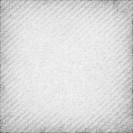 white fabric textile texture, square stripes background photo
