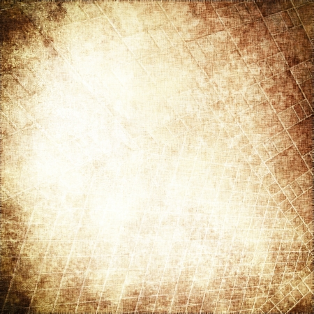 torned: grunge parchment background with delicate grid pattern texture