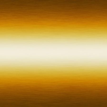 gold metal background texture with horizontal scratches photo