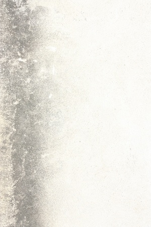 white wall texture with dark stripe, grunge background photo