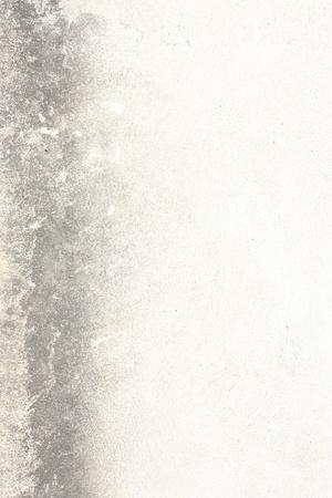 white wall texture with dark stripe, grunge background photo