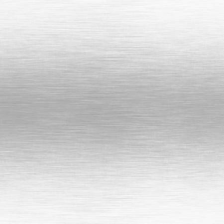white metal background with horizontal scratches texture photo