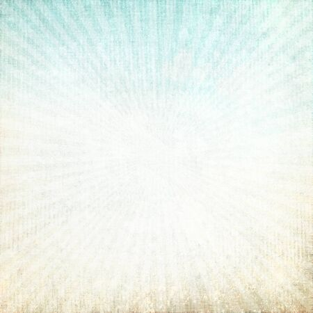 old grunge parchment background, canvas texture with delicate abstract blue sky view and sunrises Stock Photo - 14764161