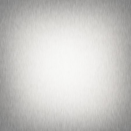 silver background: silver metal  texture, chrome background with dark vignette Stock Photo