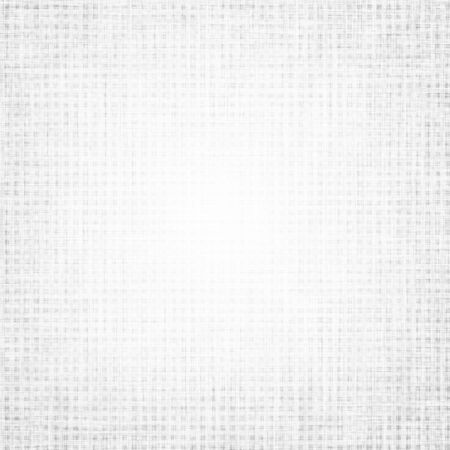 white canvas fabric texture background with blocks pattern Stock Photo - 15237126