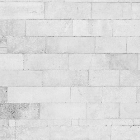 plaster wall: white brick wall background, grunge background Stock Photo