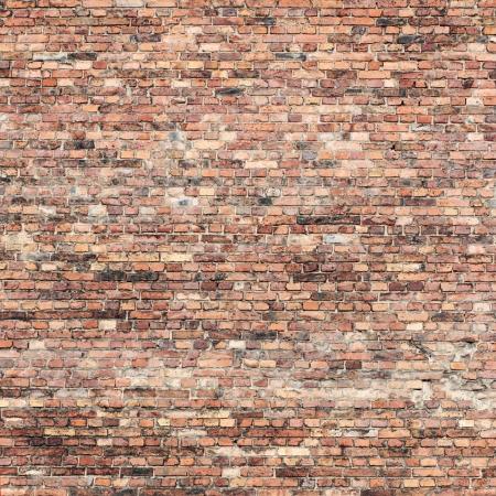 paredes de ladrillos: pared de ladrillo rojo textura de fondo