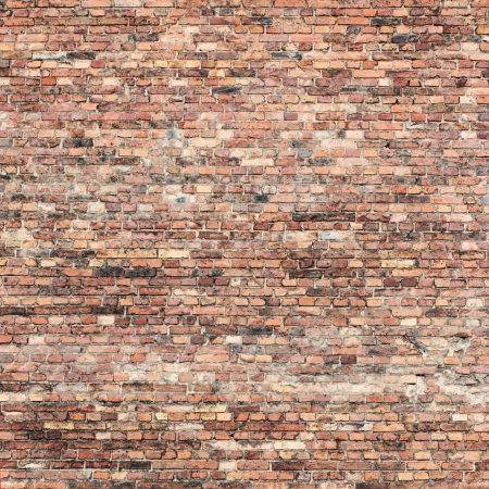 red brick wall texture background photo