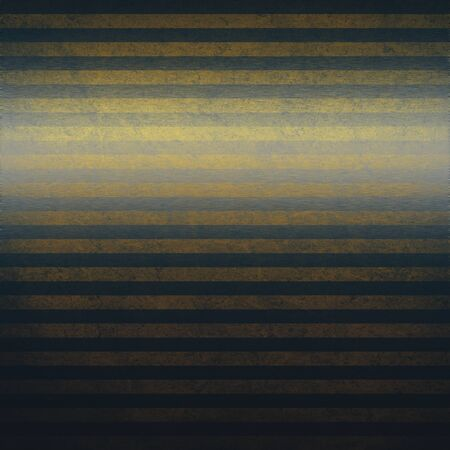 dirty metal texture background with dark and yellow horizontal stripes photo
