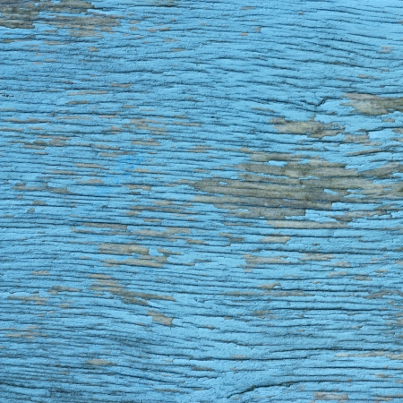old wood texture background blue color painted photo
