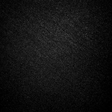 textuur: zwarte canvas stof textuur achtergrond met natuurlijke schuine strepen patroon Stockfoto