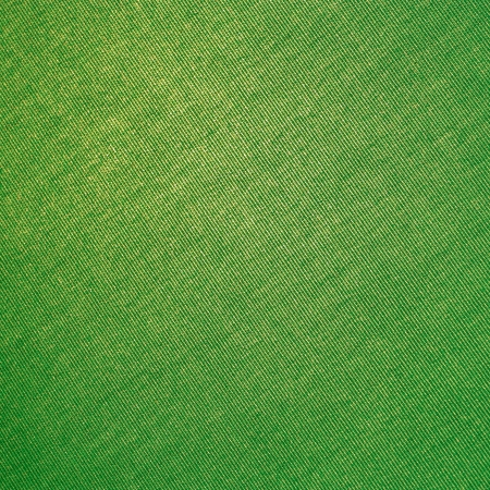 green seamless canvas texture background with delicate diaginal stripes photo