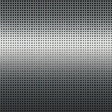 alluminum: silver metal texture background with black grid pattern Stock Photo