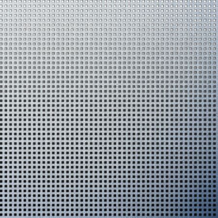 metal texture background abstract metallic plate with small blocks grille pattern photo