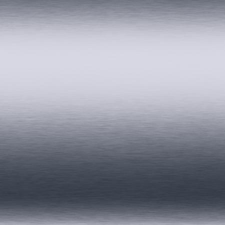 llanura: fondo blanco metal plateado cepillado textura brillante cromado