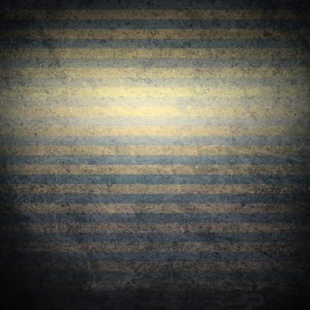 old metal background with gold stripes as vintage grunge background texture Stock Photo - 15653879