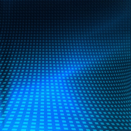 grille: blue abstract background, may use for modern technology advertising