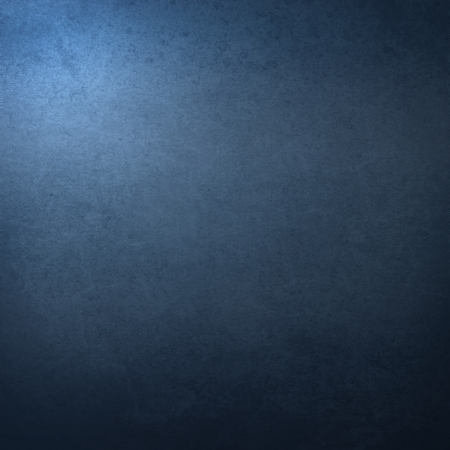 metal background: dark blue background with abstract highlight corner and vintage grunge background texture