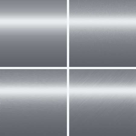silver metal texture chrome backgrounds collection of different pattern photo