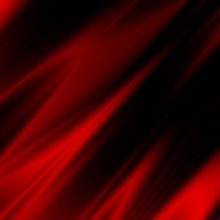 black satin: red bastract background, smooth fabric texture may use as fancy christmas background Stock Photo