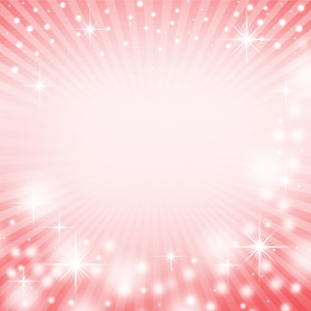 red christmas background with white snowflakes, sparkles and white rays of light Stock Photo - 16041026
