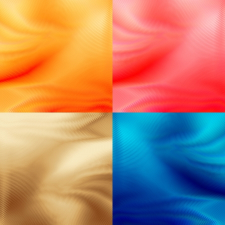 Abstract backgrounds collection with delicate pattern texture in red, yellow, coffee  latte and modern blue colors, may use for new year or modern advertising