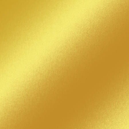 brushed steel: gold metal texture background with oblique line of light to insert text or design