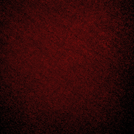 black background with red canvas texture pattern and vignette Stock Photo - 16162957
