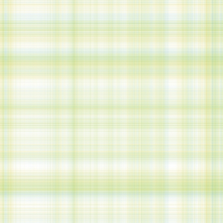 white fabric texture background with grid pattern in green, beige and blue colors photo