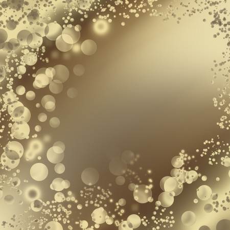 bubble abstract background in brown color with copy space for text, may use to cafe coffee advertising