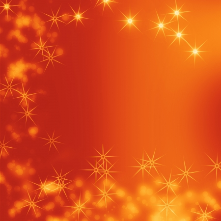 red abstract christmas background with bright lights  photo