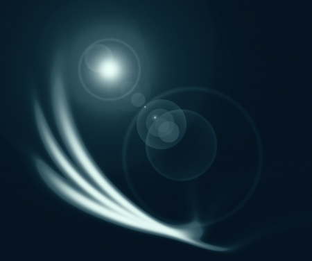 black abstract background and light flare effect like outer space Stock Photo - 17106502