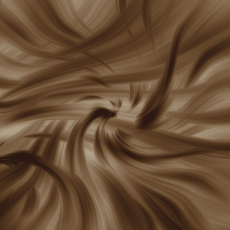 toffee: brown abstract background irregular swirl texture as sense concept Stock Photo