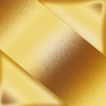 metalic sheet: gold metal background texture, metal plate shapes as abstract frame